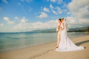 wedding samui beach