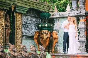wedding in thailand Samui villa