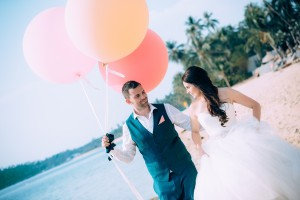 wedding photograther thailand samui