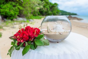 samui wedding photograther beach
