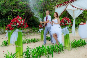 samui beach wedding thailand
