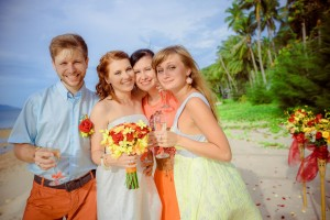 koh samui beach wedding thailand